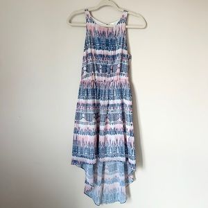 Gentle Fawn dress pink and blue